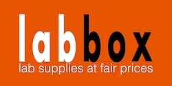Labbox logo with slogan250a